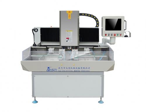 双工位玻璃倒角机 ZD-440-P