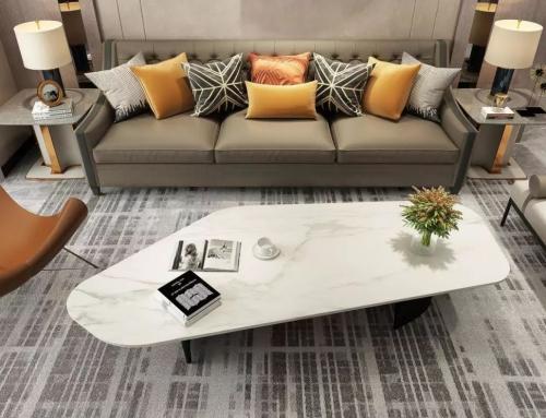 岩板加工:从一块岩板变成一件家具的过程